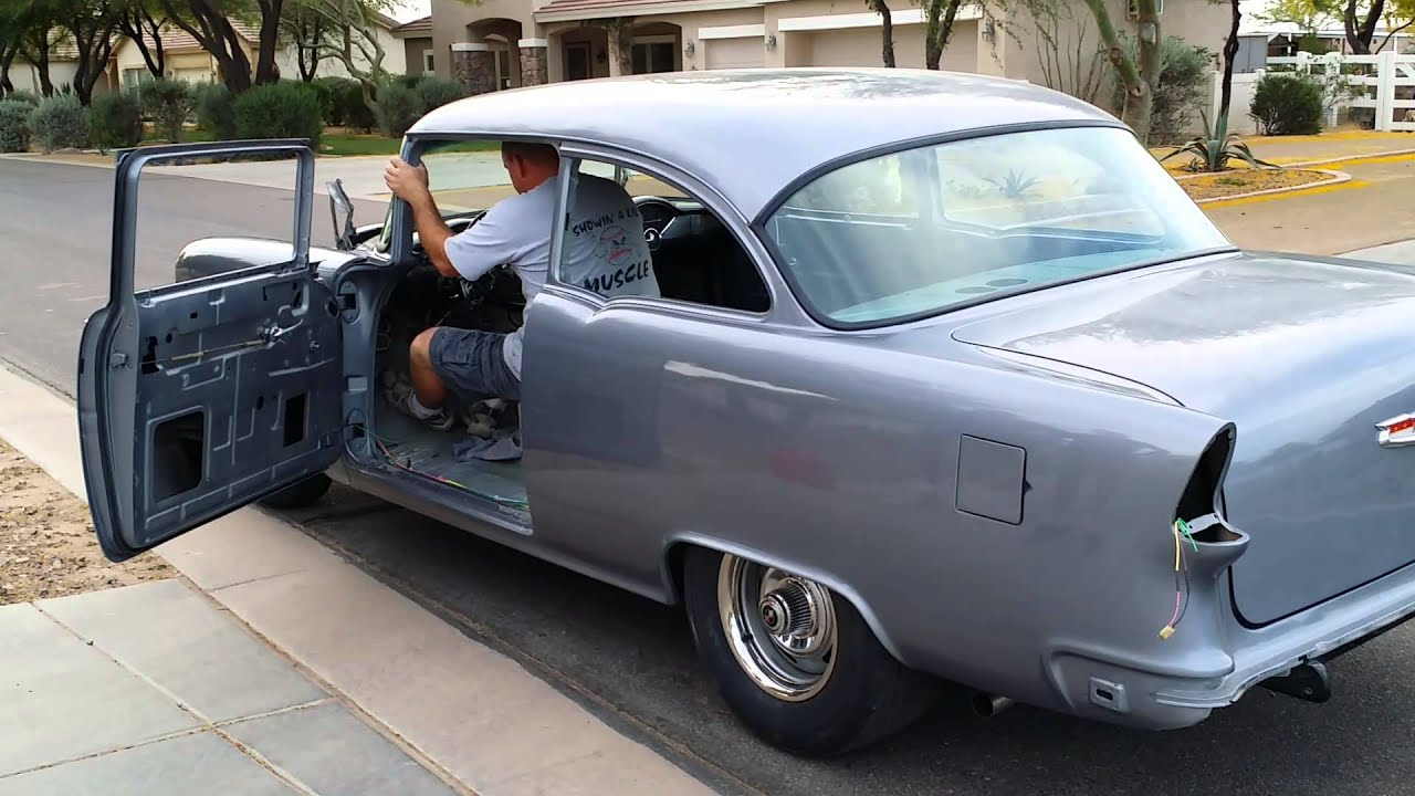 Mike Anderson Chevrolet >> 55' Chevy 150, 2 Week Progress (1/3) - YouTube
