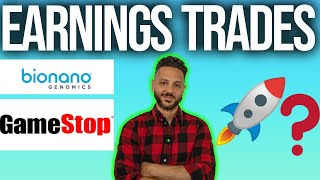 GME & BNGO EARNINGS TRADES! 🚨🔥 WILL GME & BNGO GO UP? [best stocks to buy now]
