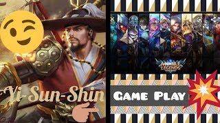 MOBILE LEGENDS Yi Sun-Shin Rank Game master tier