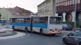 Pécs Bus in Hungary - Busverkehr in Pécs Ungarn [1080p]