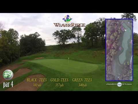 WeaverRidge Golf Club Fly Over