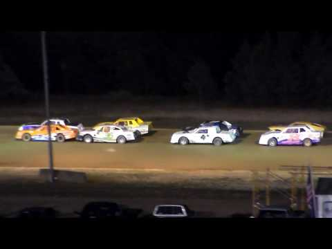 Dog Hollow Speedway - 8/5/16 Pure Stock Feature Race