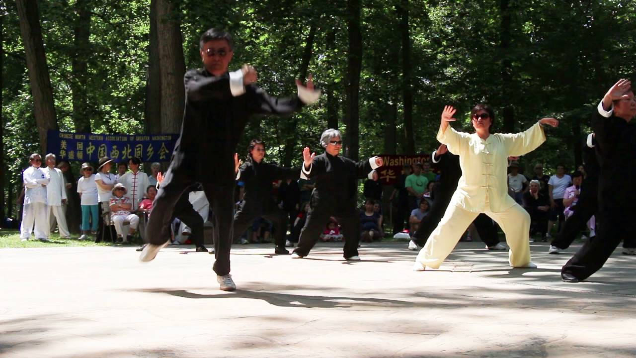 Chen-style Tai Chi 18 Form and Chen-style Old Frame Two - YouTube