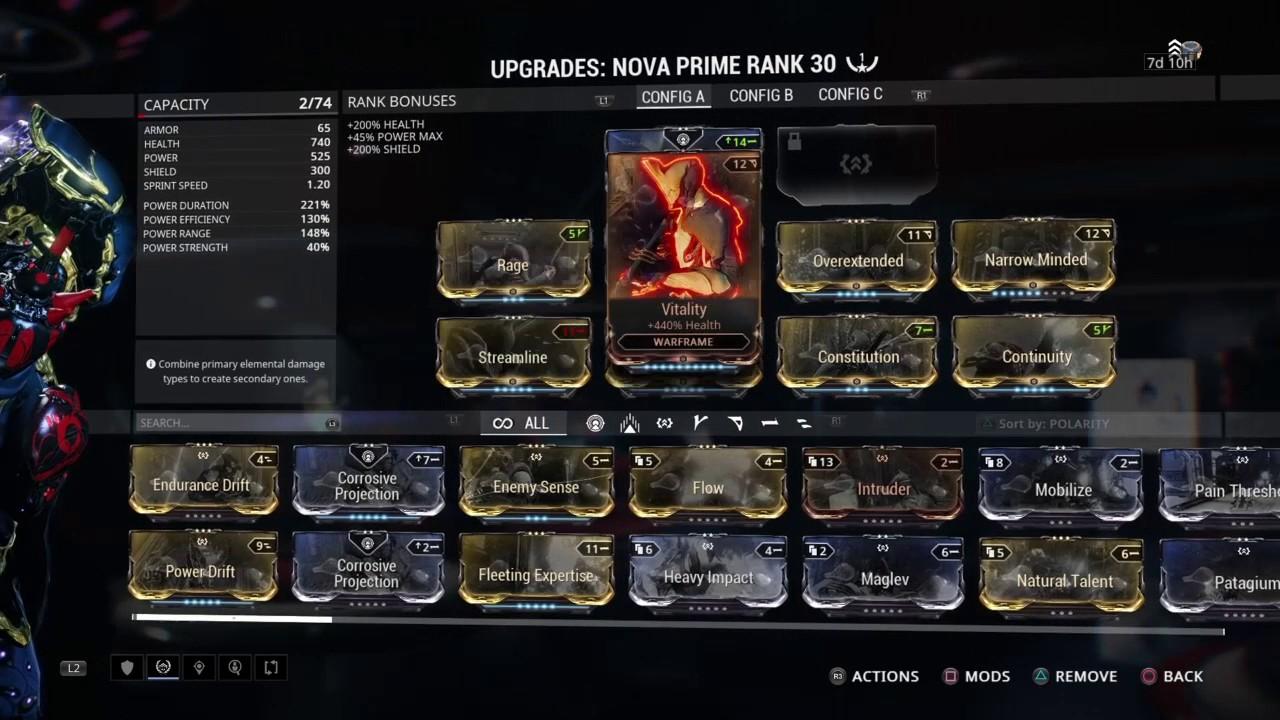 how to get nova warframe