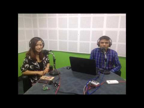 Melina Rai W' RJ Milan On Talk to Me @ Himalaya Fm Network