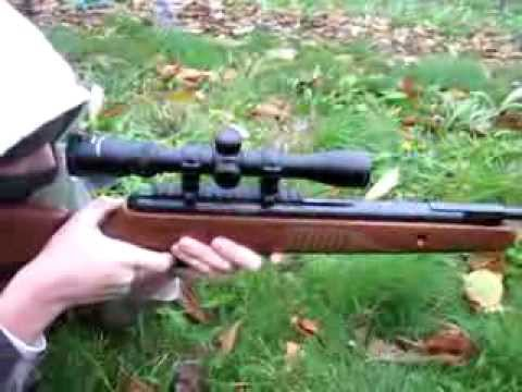 Review Tir De Loisir Carabine Crosman De 23 Joules Youtube