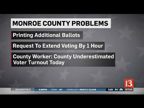 Monroe County Election Problems