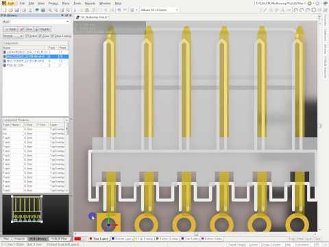 Altium Designer Tutorial Import and Position 3D Model into footprint