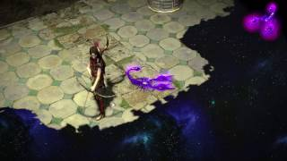Path of Exile: Purple Acid Scorpion