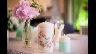 Свадьба в мятном цвете.