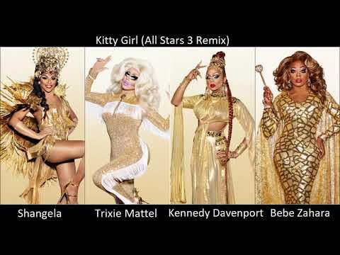 RuPaul - Kitty Girl (All Stars 3 Remix) (Audio)