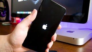 Gambar cover How To Fix STUCK AT APPLE LOGO ENDLESS REBOOT Trick iOS 12 iPhone, iPod & iPad