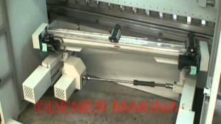 Пятиосевой задний упор на листогибочном прессе PUMA.mpg(На видео показан принцип действия заднего упора пресса PUMA (Dener Makina) с 5-ю управляемыми осями: X1, X2 - Z1, Z2 - R, то..., 2012-03-25T17:06:45.000Z)