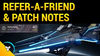 Destiny Taken King: Referral Rewards & Patch Notes!