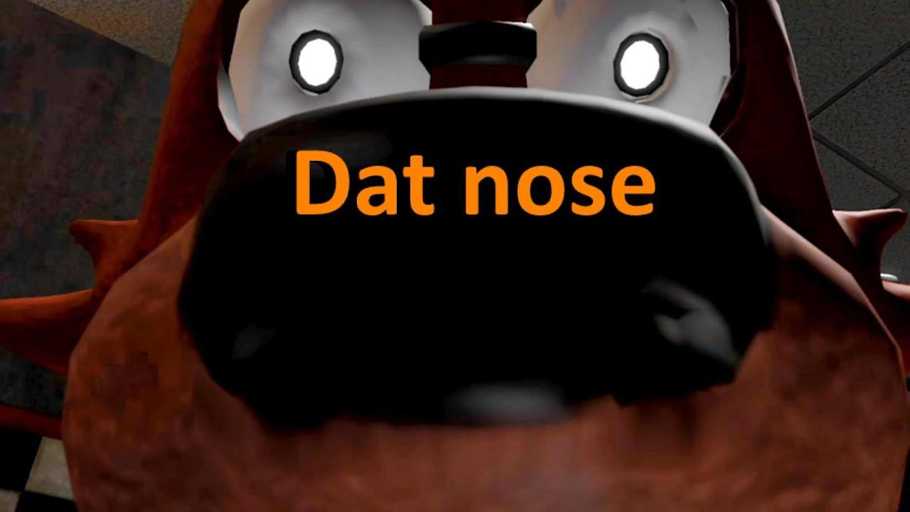 Fnaf sfm five nights at freddy s foxy s cute snuffly nose youtube