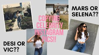 Copying Desi Perkins and Selena Gomez's Instagram Photos