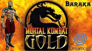 Baraka - Mortal Kombat Gold - Dreamcast Playthrough
