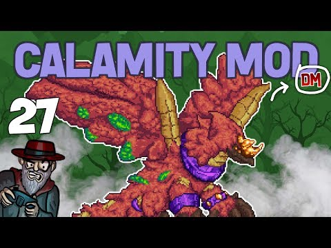 Terraria # 27 YHARON, THE ULTIMATE BOSS!! Calamity Mod D-Mode Let's Play
