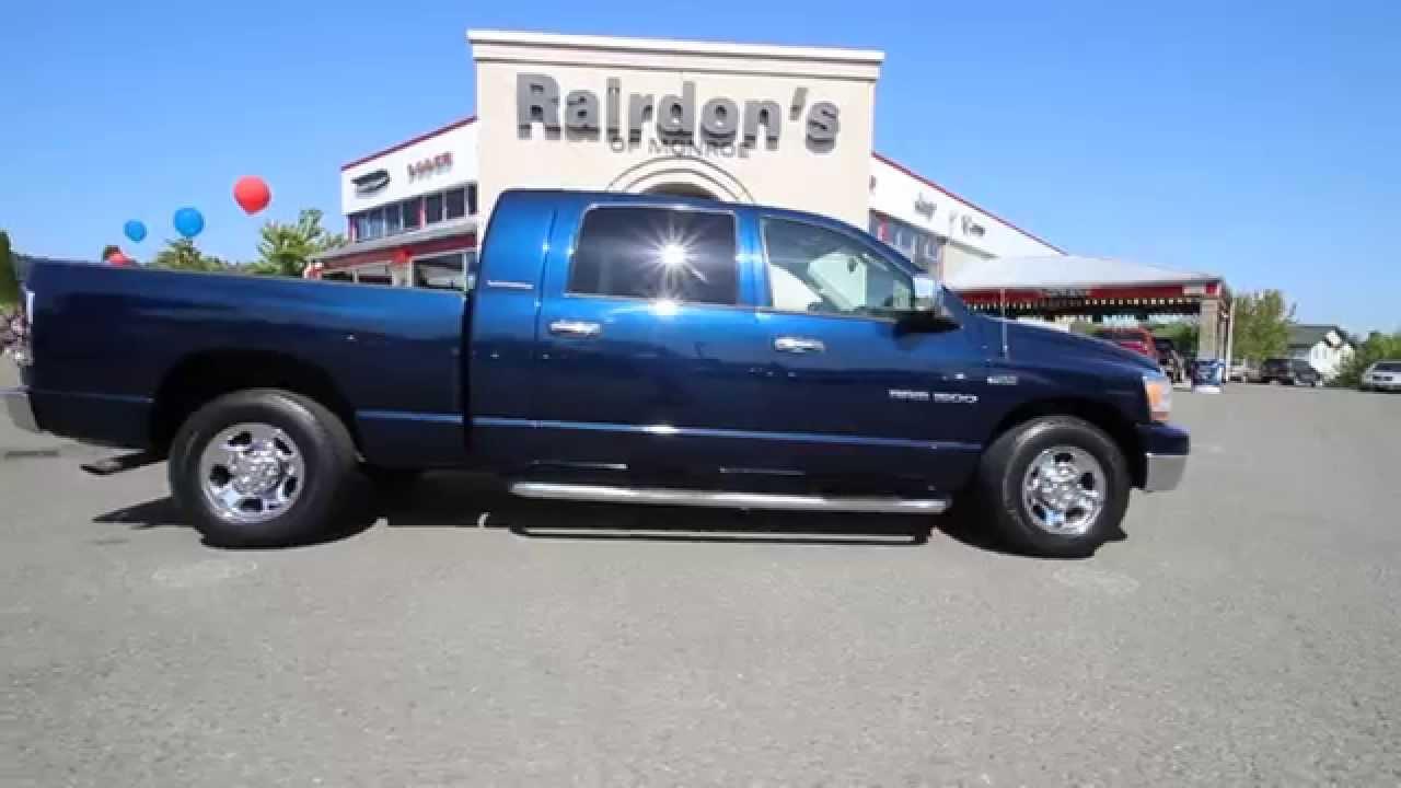 2006 Dodge Ram 1500 Crew Cab Patriot Blue Pearlcoat