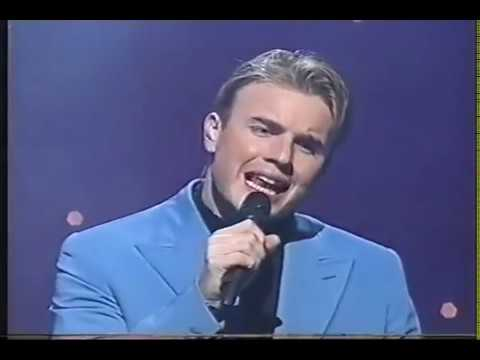 Take That Gary Barlow On The Royal Variety Show 1997   So Help Me Girl