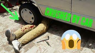 Prank Video | CRUSHED BY CAR PRANK | Funniest Kids Prank With Nursery Rhymes Part #1