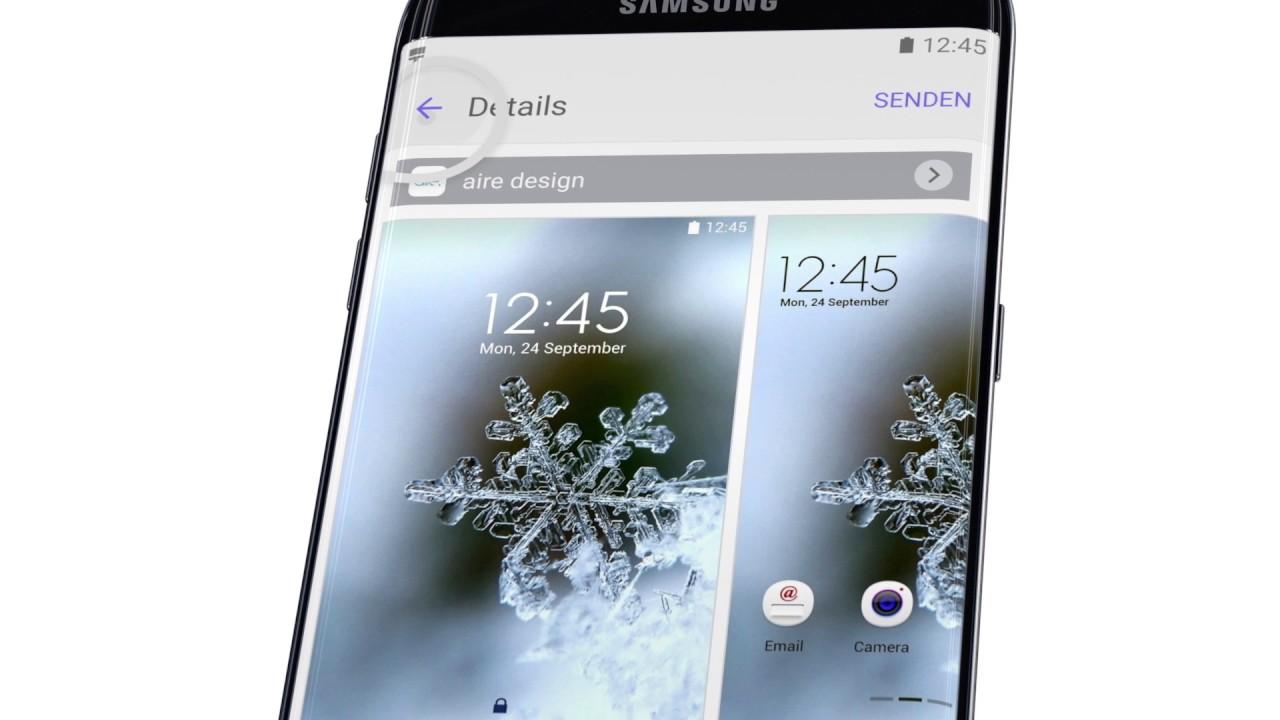 #HowToS7 Samsung Galaxy S7: Theme Wechseln