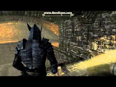 Skyrim: как збежать  из тюрьмы Вайтран