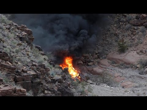 Helicopter Crash in Grand Canyon Kills 3, Injures 4: Cops