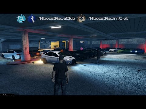 Grand Theft Auto V Online (XB1) | Street Car Stance Meet | Road Trip, House Party & More