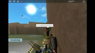 A ROBLOX metalworks sandbox demo wall climbing creation