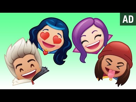 disney channels descendants as told by emoji  disney