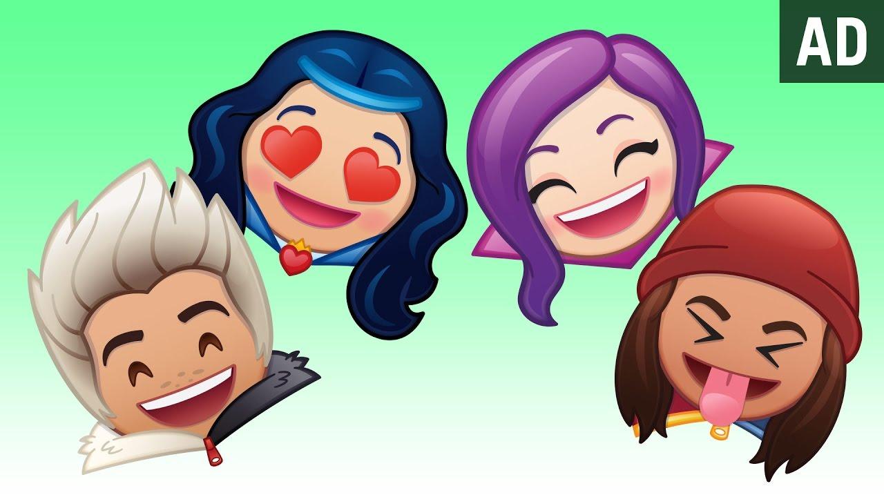 Disney Channel's Descendants As Told By Emoji | Disney