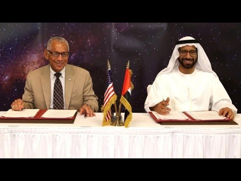 NASA Taking Money from UAE for Mission to Mars