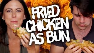 Replacing Buns with CHICKEN?!? (Cheat Day)