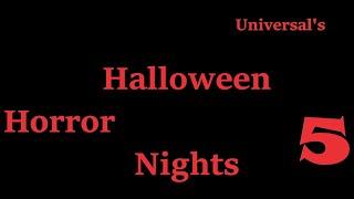 HHN 5 Club U Preview (Universal Studios Roblox) (LIVE)