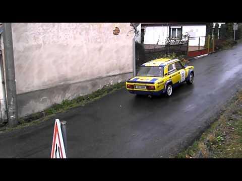 Historic Vltava Rally 2011 Šlehofer - Sekyra RZ 9/13 Pohorsko - Maleč
