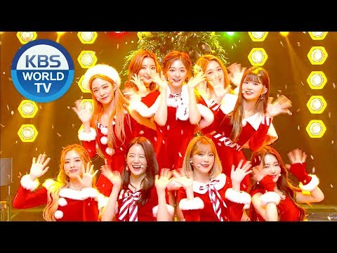 fromis_9(頂勲氙胳姢9) - All I Want For Christmas Is You [Music Bank / 2018.12.21]