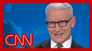 Anderson Cooper mocks White House press secretary's Mulvaney story