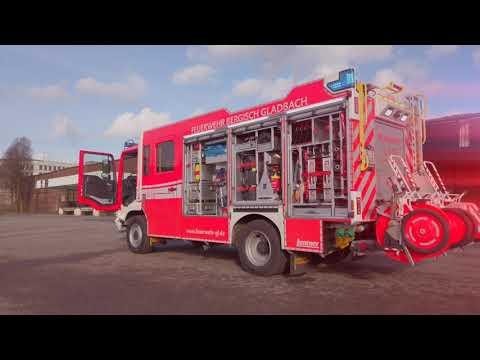 8 neue Fahrzeuge für die Feuerwehr Bergisch Gladbach