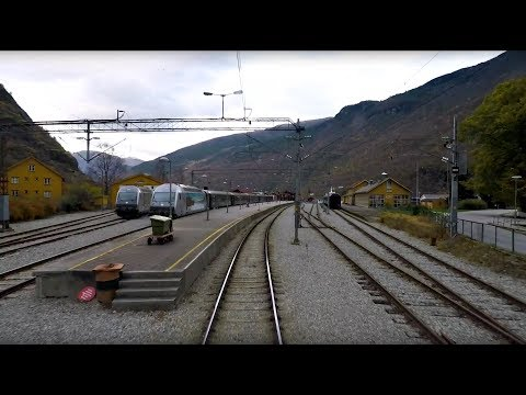 Train Driver's View: Myrdal - Flåm (Fall has come to the Flå