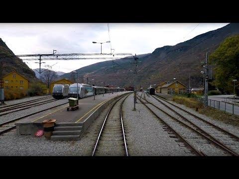 Train Driver's View: Myrdal - Flåm (Fall has come to the Flåm line)