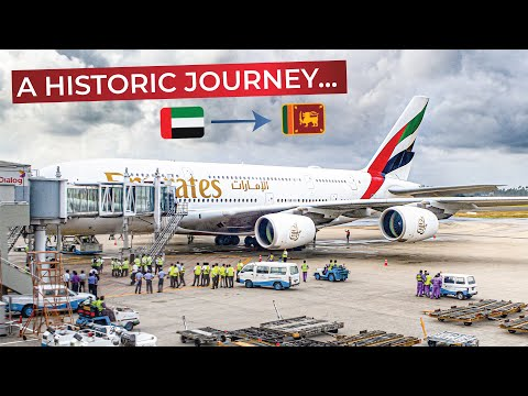 Thumbnail: BEST DAY OF MY LIFE? | Emirates FIRST CLASS UPGRADE!!! | First ever AIRBUS A380 flight to SRI LANKA!