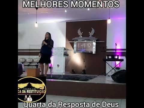 Pastora Carla Cardoso igreja arca da restituição Canarana