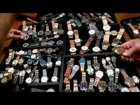 BANGKOK WHISKY AND WATCHES FUNCTION - amazing spread of vintage watches