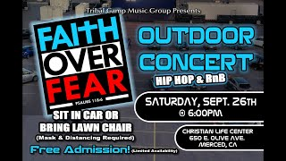 FAITH OVER FEAR CONCERT - SEPT 26
