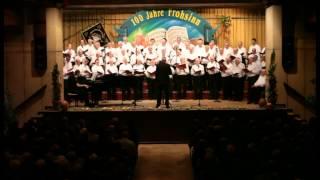 Chor der Schmiedegesellen - 100 Jahre GV Frohsinn e.V. Bellheim