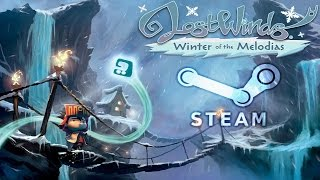 LostWinds: Winter of the Melodias Gameplay -  Steam/PC Version