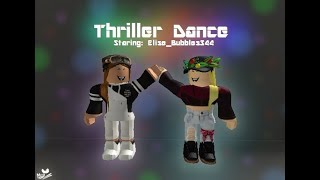 Thriller Michael Jackson dance - Roblox w/Elise-Bubbles344 - Halloween Special :D (Lire la description)