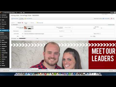 Creating a Layer Slider slideshow for your Wordpress Church Site
