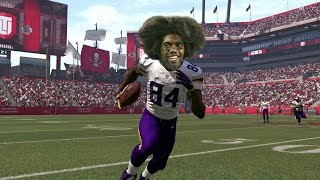 can i recreate randy moss incredible 3 td 163 yd game in madden 17